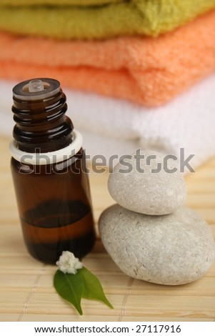 Tea tree oil - stock photo