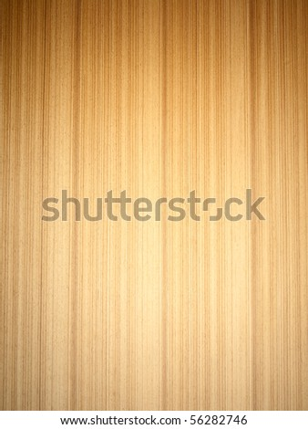 teak plywood texture background - stock photo