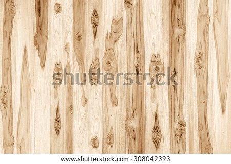 teak wood plank texture with natural pattern - stock photo
