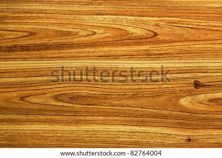 teakwook texture on laminated floor - stock photo