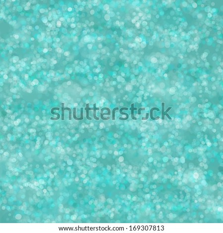 Teal Bokeh Background Texture - stock photo