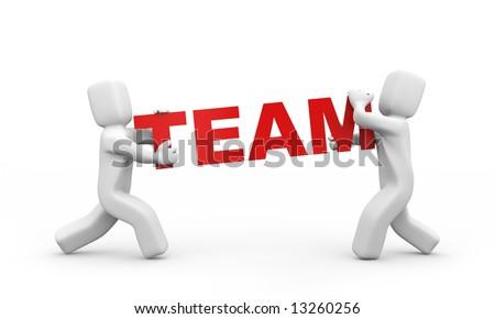 Team concept - stock photo