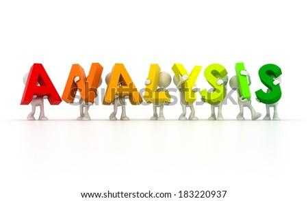 Team forming analysis word - stock photo
