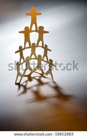 Team support - stock photo