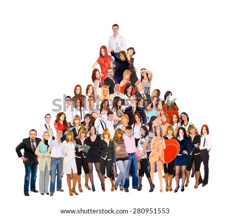 Team Together Together we Stand  - stock photo
