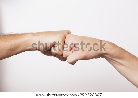 Team work and cooperation  - stock photo