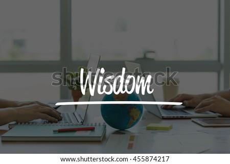 TEAMWORK OFFICE BUSINESS COMMUNICATION TECHNOLOGY  WISDOM GLOBAL NETWORK CONCEPT - stock photo