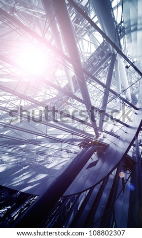 Tech Structure - stock photo