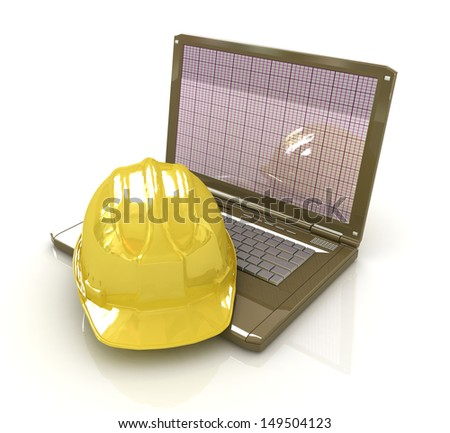 Technical engineer concept - stock photo