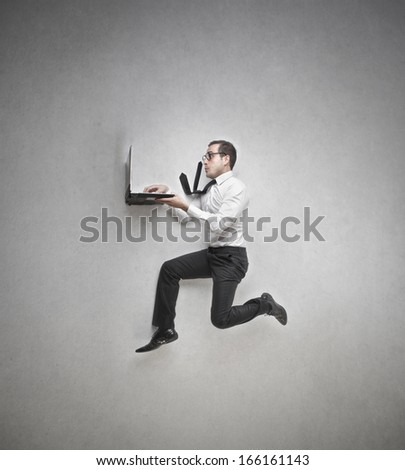 Technological Race - stock photo