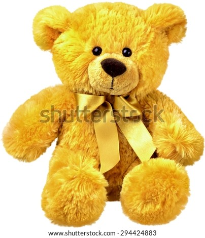 Teddy Bear, Stuffed Animal, Toy. - stock photo