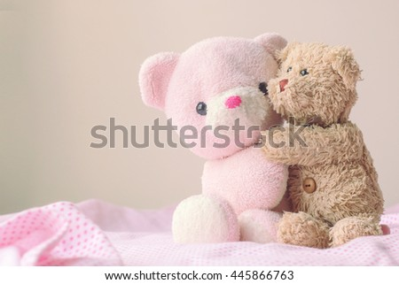 teddy bears - stock photo