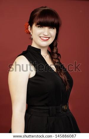 Teenage Girl - stock photo