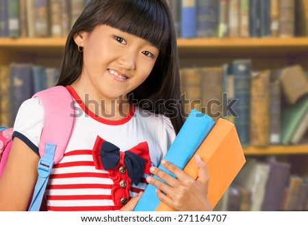 Teenage Girls, Teenager, Education. - stock photo