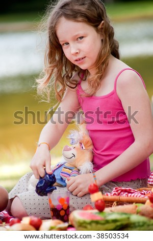 Teenagers having a great time in the park - stock photo