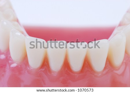 teeth 4 - stock photo