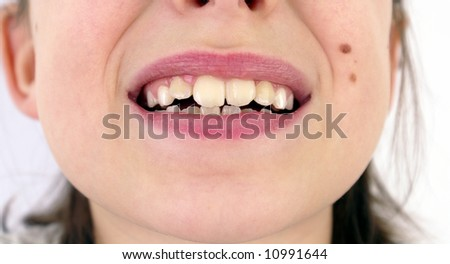 teeth - stock photo