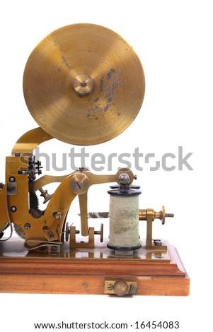 telegraph - stock photo