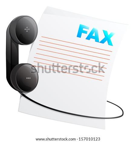 Telephone Icon - Illustration - stock photo