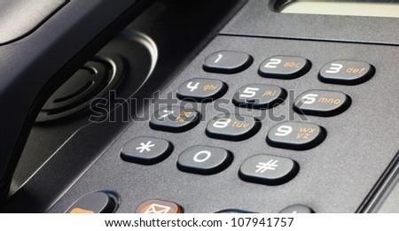 Telephone VOIP - stock photo