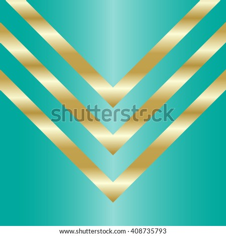 Template with striped elements. Design for voucher, gift card, postcard, discount card, coupon, certificate, web banner - stock photo