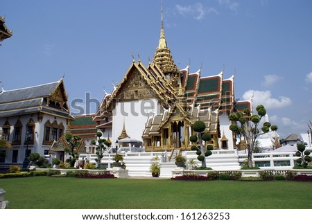 temple, bangkok, thailand - stock photo
