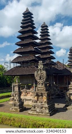Temple complex in Bali - stock photo