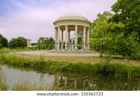 Temple de l'Amour in the Trianon - Versailles, France - stock photo
