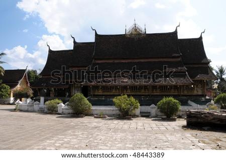 Temple,Luang Prabang - stock photo