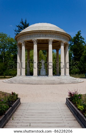 Temple of Love, Versailles, France - stock photo
