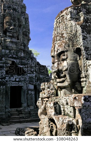 Temples of Angkor - stock photo