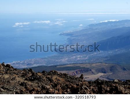 Tenerife coast - Canary Islands, Spain - stock photo