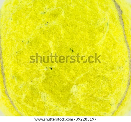 tennis ball isolated on white background / Tennis Ball, Tennis, Ball / Single tennis  ball isolated on white background  / tennis ball isolated on white background - stock photo