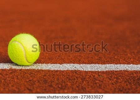 Tennis, Court, Grass. - stock photo