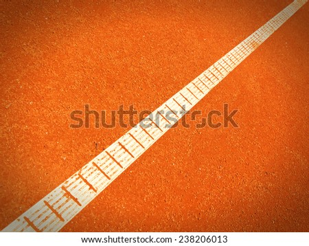 tennis court lines ( - stock photo