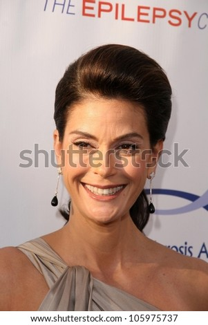 Teri Hatcher at the 8th Annual Comedy for A Cure, a Benefit to raise Funds and Awareness for the Tuberous Sclerosis Alliance. Boulevard3, Hollywood, CA. 04-05-09 - stock photo