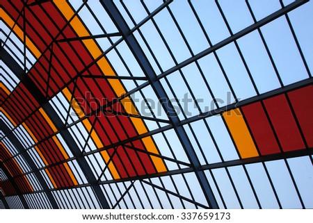 Terminal station - stock photo