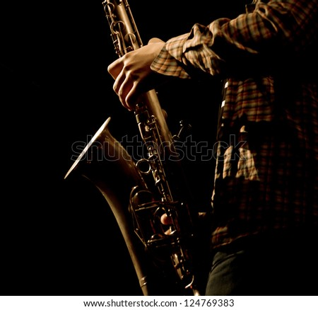 """TERNOPIL, UKRAINE - DECEMBER 15: Band """"Sonic Forecast"""" live stage performing as part of annual Festival """"Jazz Bez"""" on December 15, 2012 in Ternopil, Ukraine - stock photo"""
