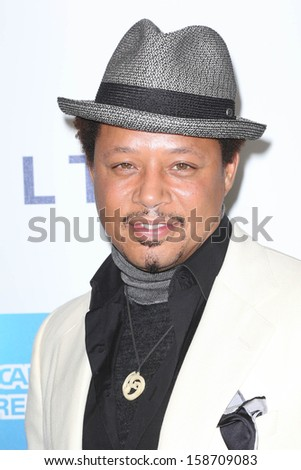 "Terrence Howard at Hugh Jackman ""One Night Only,"" Dolby Theater, Hollywood, CA 10-12-13 - stock photo"