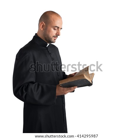 Text of the Bible - stock photo