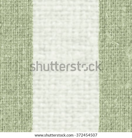 Textile surface, fabric exterior, green canvas, fiber material natural background - stock photo