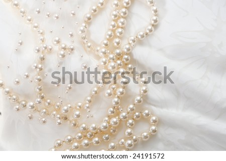 textile wedding background - stock photo
