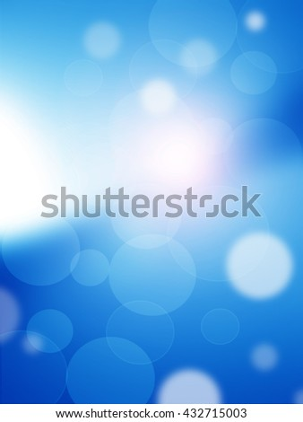 texture, abstract background is blue bokeh light is colorful for happy new year day, christmas and other event. - stock photo