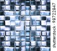 Texture abstract squares - stock photo