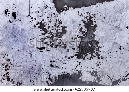 Texture background of old stucco cement wall. Old plaster wall surface for texture or background. Repairs in the house. Rough cement wall cracks as background for creative design - stock photo