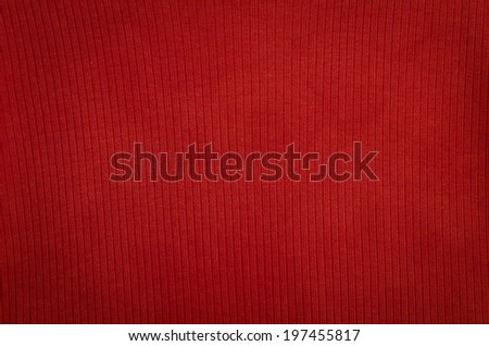 texture background of red fabric textile - stock photo