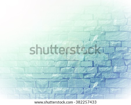 texture brick color filter wall pattern background in landscape architecture. - stock photo