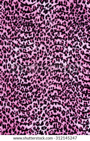 texture fabric wild animal pattern background - stock photo