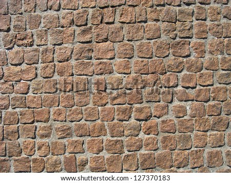 Texture, floor porphyry - stock photo