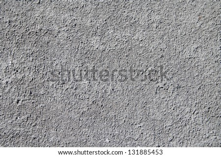 Texture gray plastered wall for background - stock photo